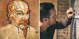 Dave Van Etten and Corey Jeppesen, artists