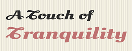 A Touch of Tranquility, sponsor