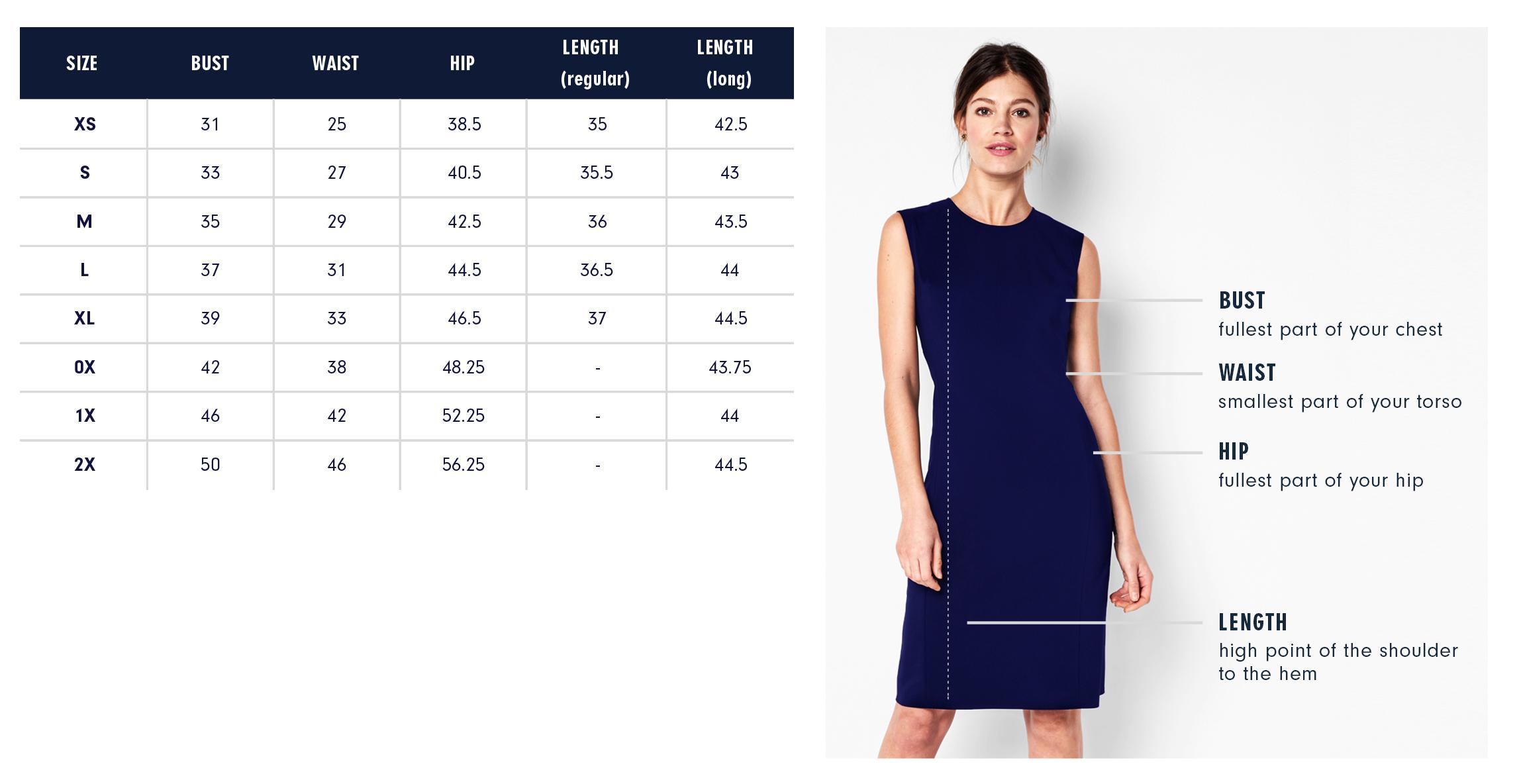 Of Mercer Astor Wrap Dress Size Chart